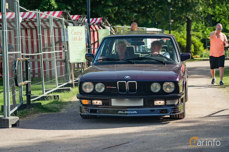 Front  of ALPINA B7 Turbo / 1  Manual, 300ps, 1986 at Ronneby Nostalgia Festival 2019