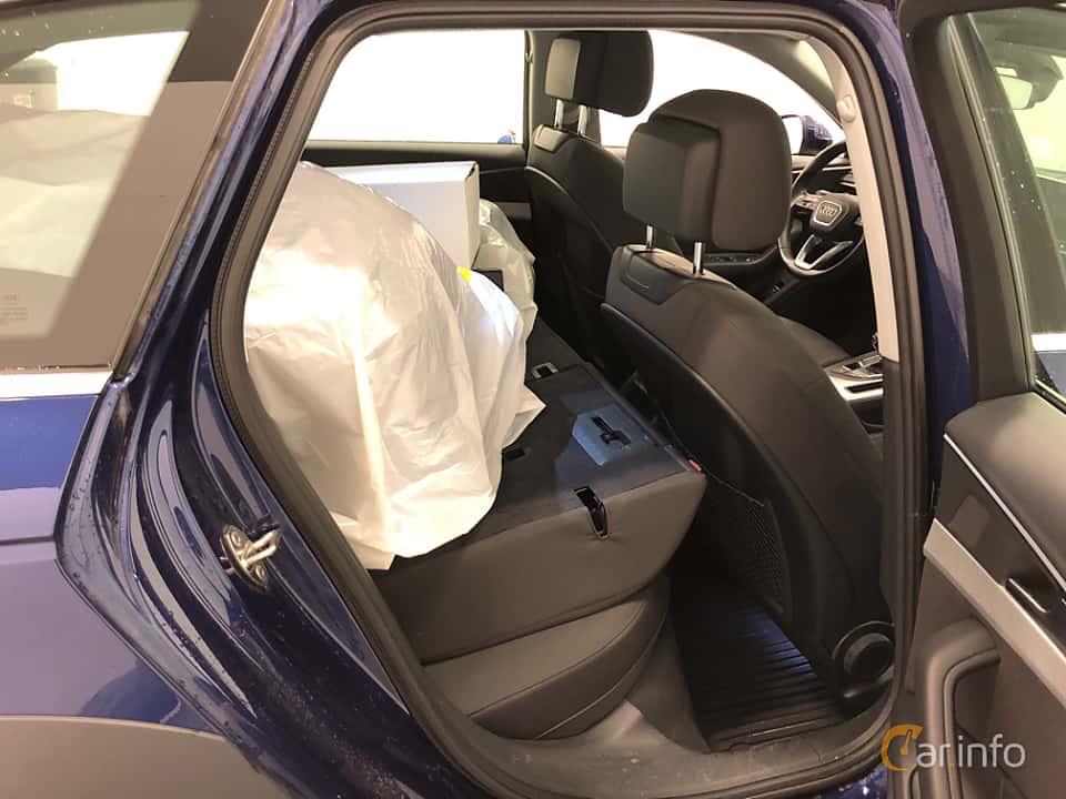 Interior of Audi A4 allroad quattro 2.0 TDI quattro S Tronic, 190ps, 2018