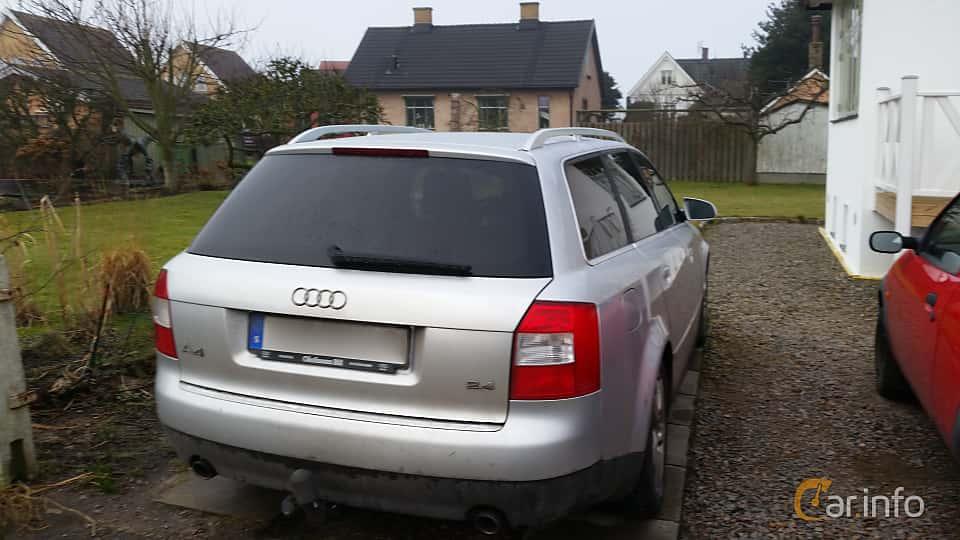 Audi A4 Avant 24 V6 Multitronic 170hp 2004