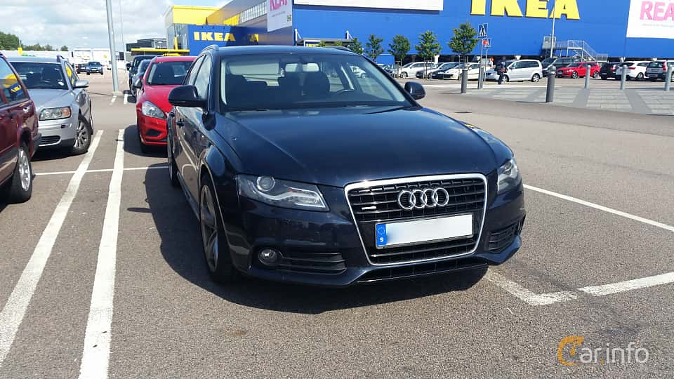 audi a4 3.2 fsi v6 quattro generation b8, manual, 6-speed