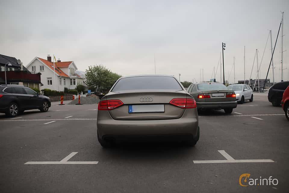 Back of Audi A4 Sedan 1.8 TFSI Multitronic, 160ps, 2009