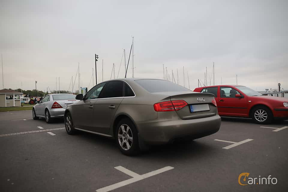 Back/Side of Audi A4 Sedan 1.8 TFSI Multitronic, 160ps, 2009