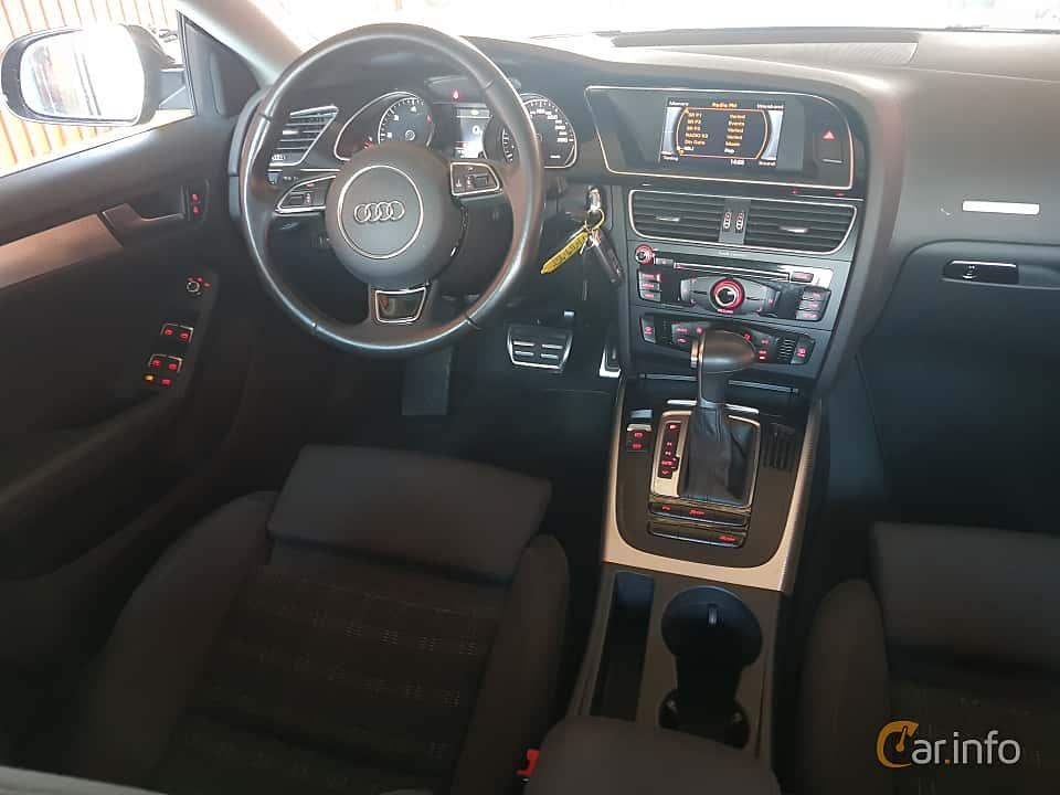 Interior of Audi A5 Sportback 2.0 TDI clean diesel quattro  S Tronic, 190ps, 2016