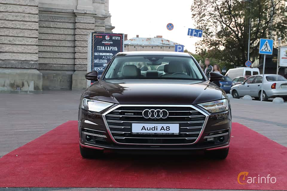 Front  of Audi A8 50 TDI quattro  TipTronic, 286ps, 2019