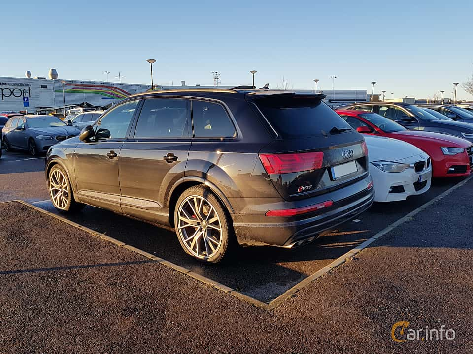 Back/Side of Audi SQ7 4.0 TDI V8 quattro TipTronic, 435ps, 2017