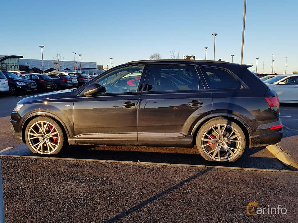 Side  of Audi SQ7 4.0 TDI V8 quattro TipTronic, 435ps, 2017