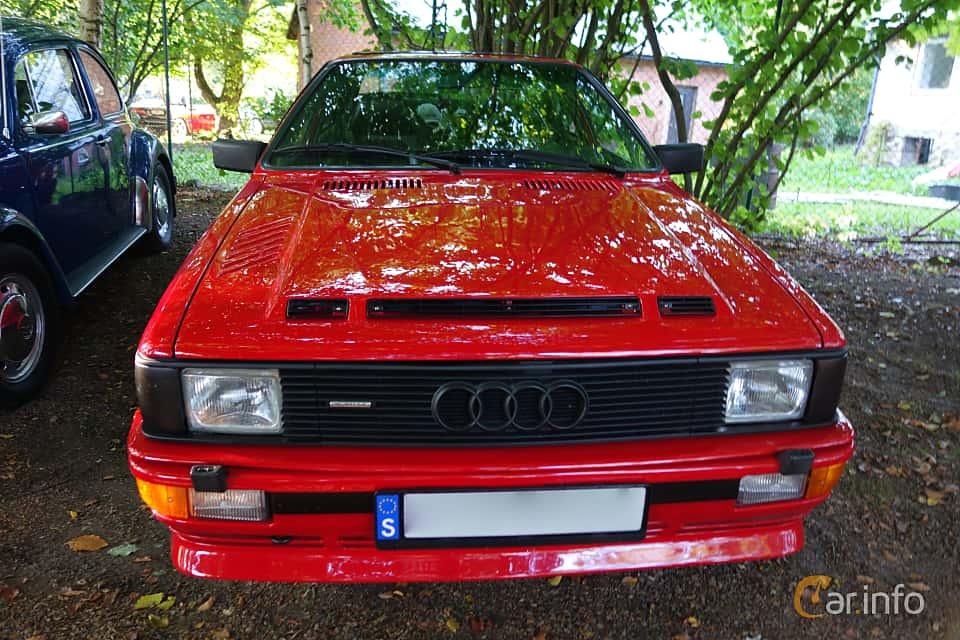 Front  of Audi quattro 2.1 quattro Manual, 200ps, 1983 at Billesholms Veteranbilsträff September / 2014