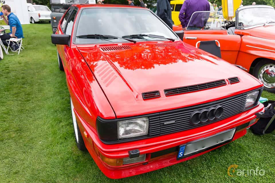 Front/Side  of Audi quattro 2.1 quattro Manual, 200ps, 1983 at Sofiero Classic 2015