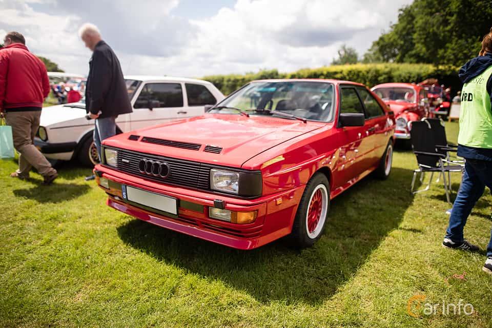 Front/Side  of Audi quattro 2.1 quattro Manual, 200ps, 1983 at Sofiero Classic 2016