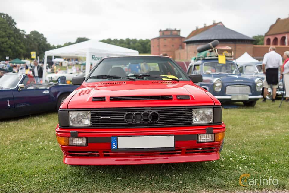 Front  of Audi quattro 2.1 quattro Manual, 200ps, 1983 at Thulinträffen 2015