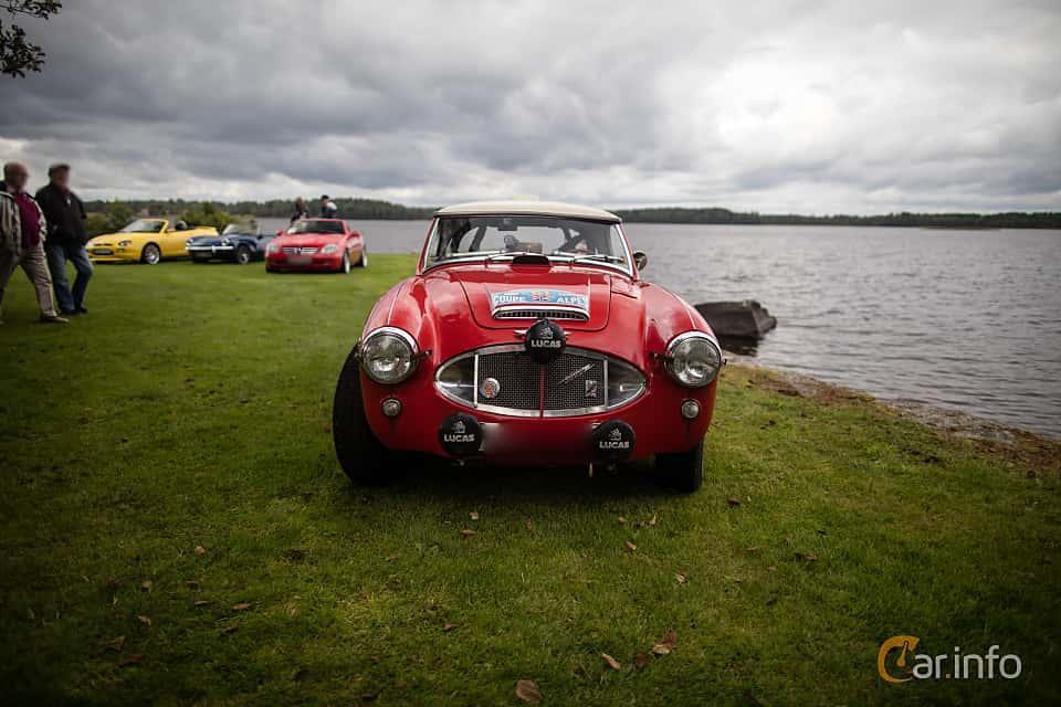 Front  of Austin-Healey 3000 2.9 Manual, 126ps, 1961 at Sportvagnsträffen 2017