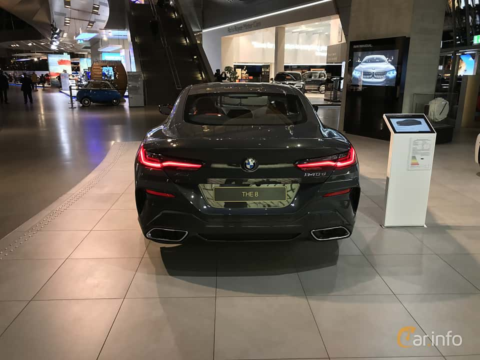 Back of BMW 840d xDrive  Steptronic, 320ps, 2019