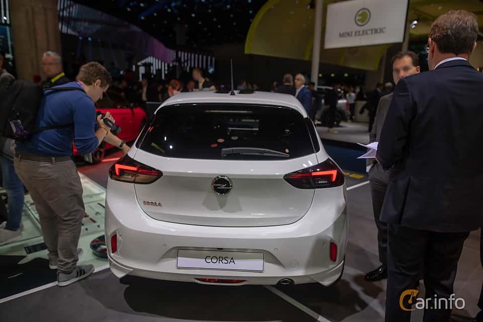 Back of Opel Corsa 1.2 Turbo Automatic, 100ps, 2020 at IAA 2019