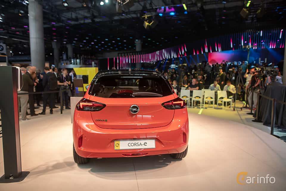 Back of Opel Corsa-e 50 kWh Single Speed, 136ps, 2020 at IAA 2019
