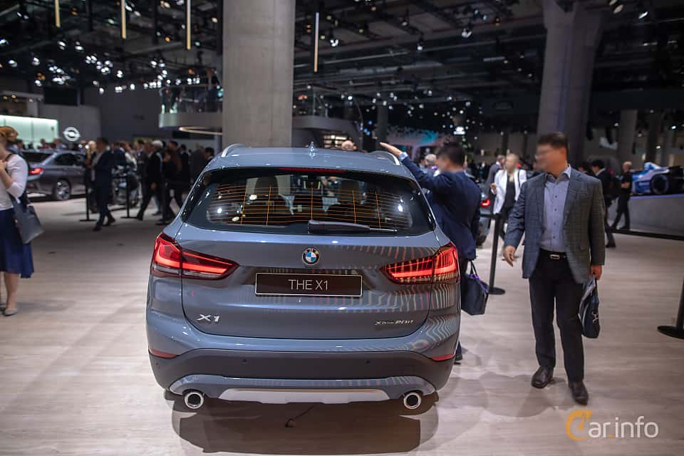 Back of BMW X1 xDrive20d  Steptronic, 190ps, 2020 at IAA 2019