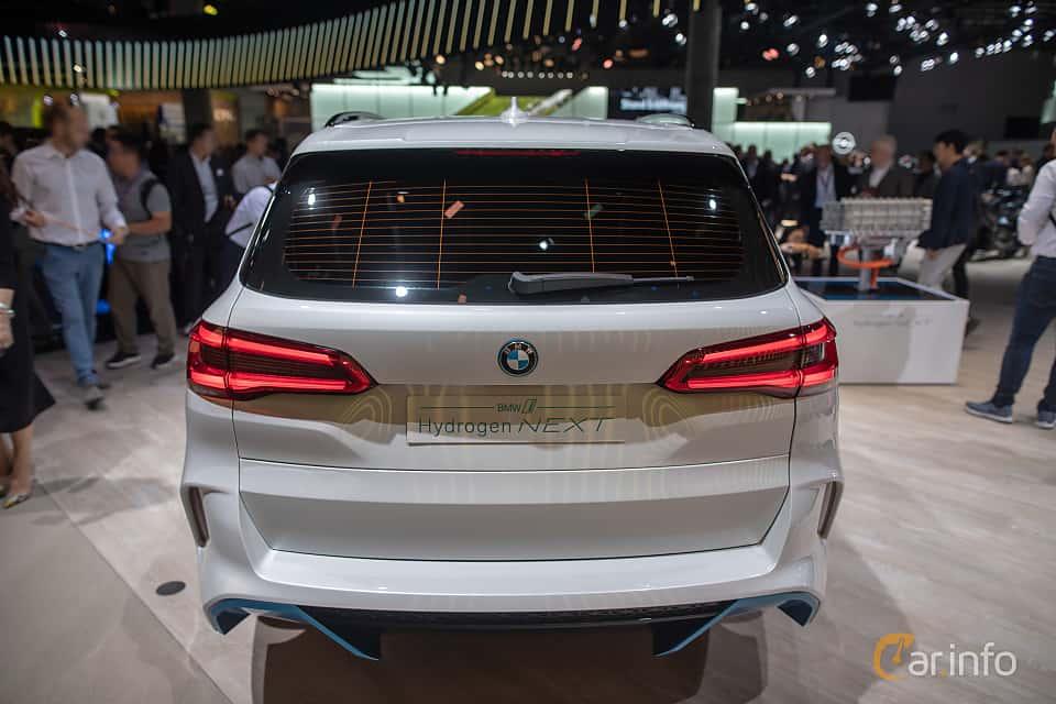 Back of BMW i Hydrogen NEXT Concept Concept, 2019 at IAA 2019