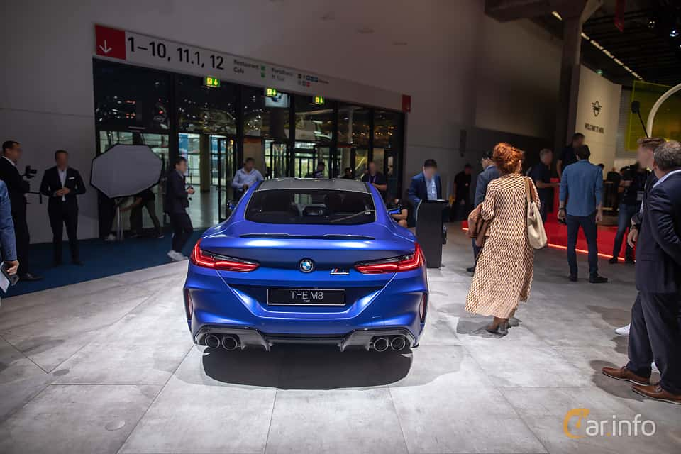 Back of BMW M8 Competition Coupe  Steptronic, 625ps, 2020 at IAA 2019