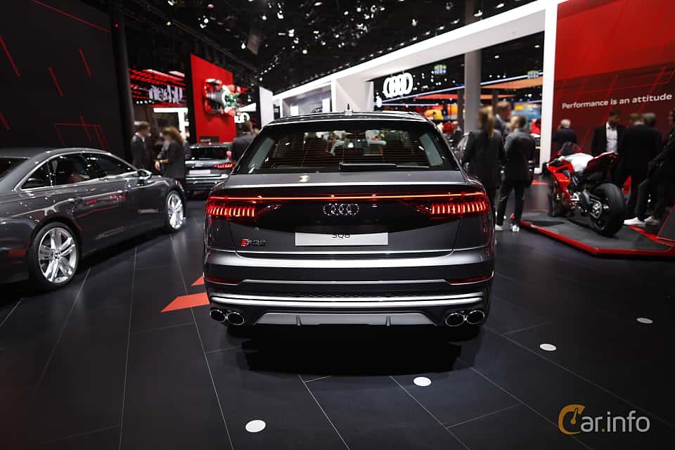 Back of Audi SQ8 TDI  TipTronic, 435ps, 2020 at IAA 2019