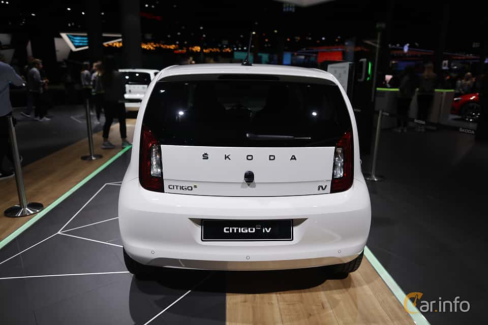 Back of Skoda Citigo iV 36.8 kWh Single Speed, 83ps, 2020 at IAA 2019