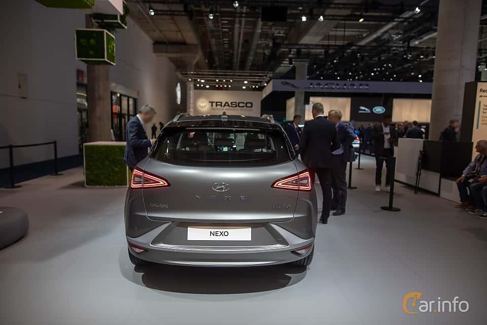 Back of Hyundai Nexo FuelCell Single Speed, 163ps, 2020 at IAA 2019