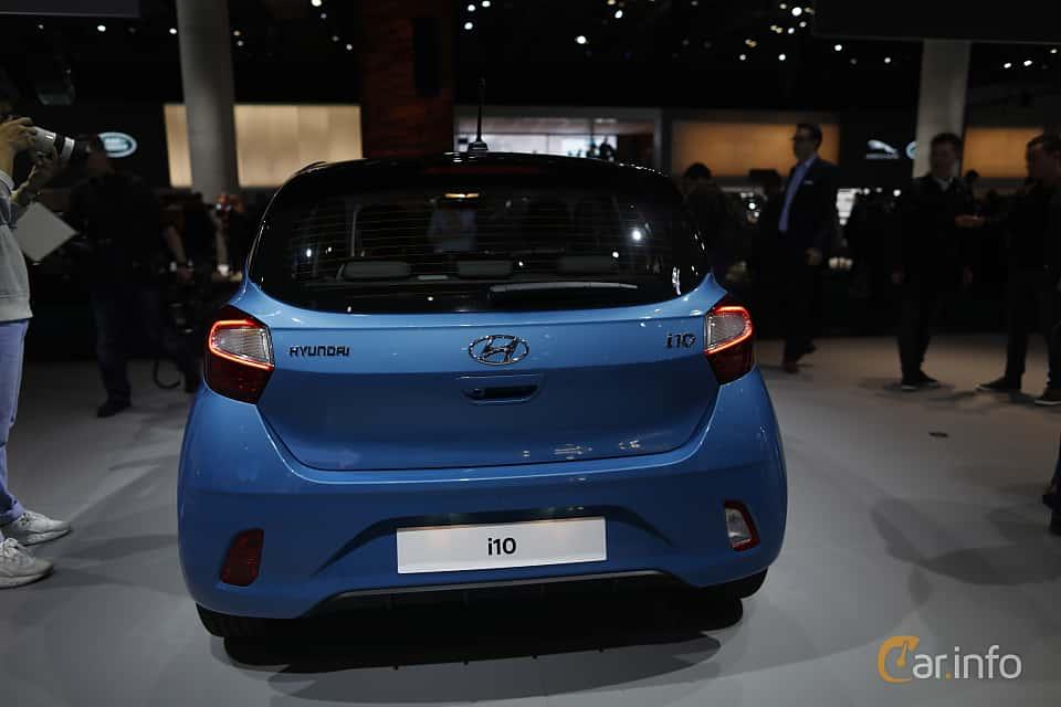 Back of Hyundai i10 1.2 AMT, 84ps, 2020 at IAA 2019