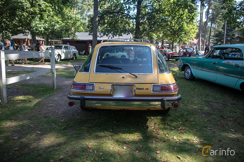 Back of AMC Pacer Coupé 3.8 Automatic, 102ps, 1975 at Lergöksträffen Ängelholm 2019