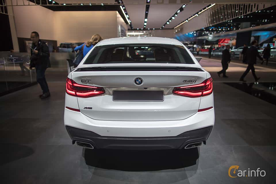Back Of BMW 640i Gran Turismo XDrive 30 Steptronic 340ps 2018 At North