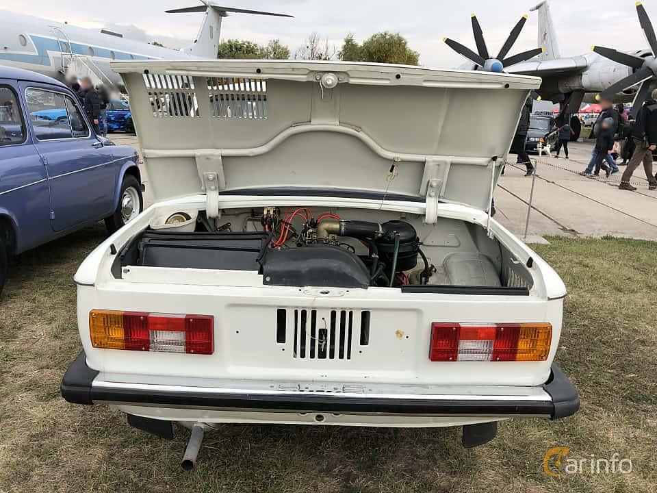 Back of ZAZ 968M 1979 at Old Car Land no.2 2019