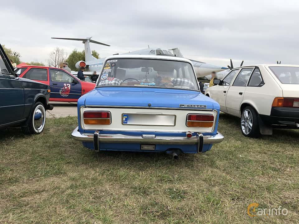 Back of VAZ 2103 1.5 Manual, 75ps, 1975 at Old Car Land no.2 2019