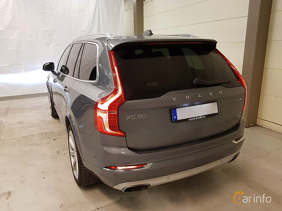 Back/Side of Volvo XC90 T8 AWD Geartronic, 407ps, 2018