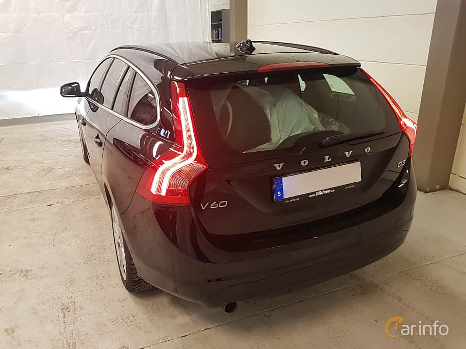 Back/Side of Volvo V60 D3 Geartronic, 150ps, 2017