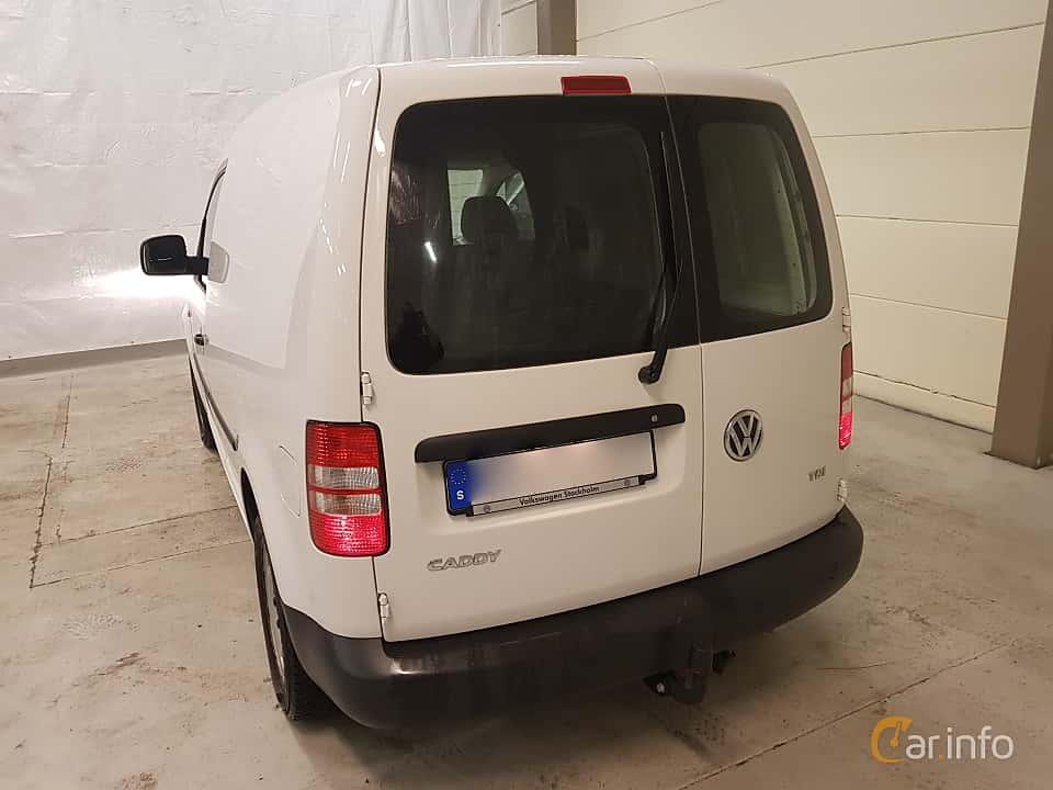 Back/Side of Volkswagen Caddy Panel Van 1.6 TDI Manual, 75ps, 2015
