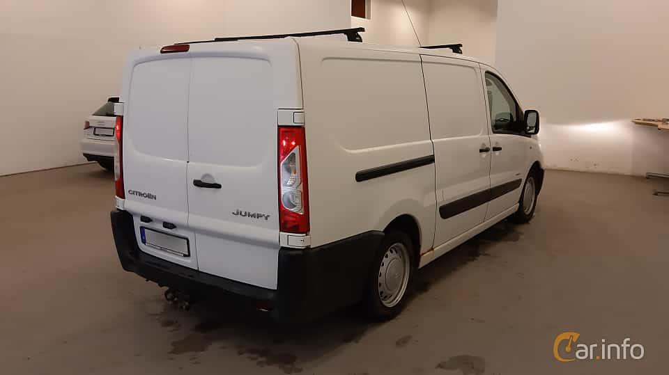 Back/Side of Citroën Jumpy Van 2.0 HDi Manual, 120ps, 2007