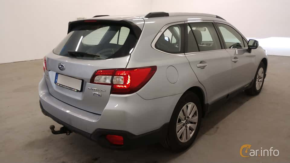 Back/Side of Subaru Outback 2.0 4WD Lineartronic, 150ps, 2015