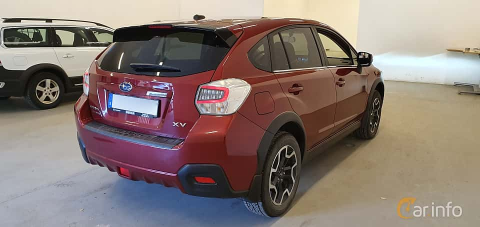 Back/Side of Subaru XV 2.0 4WD Lineartronic, 150ps, 2016