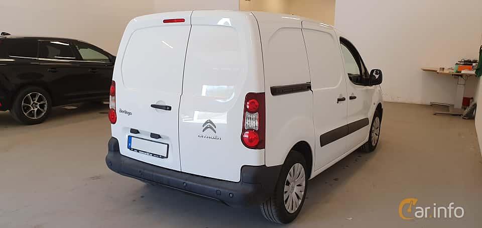 Back/Side of Citroën Berlingo Van 1.6 HDi ETG6, 92ps, 2014