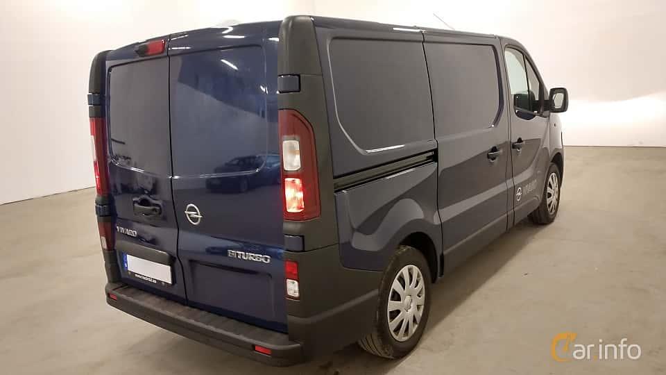 Back/Side of Opel Vivaro Van 1.6 CDTI BIturbo Manual, 120ps, 2015