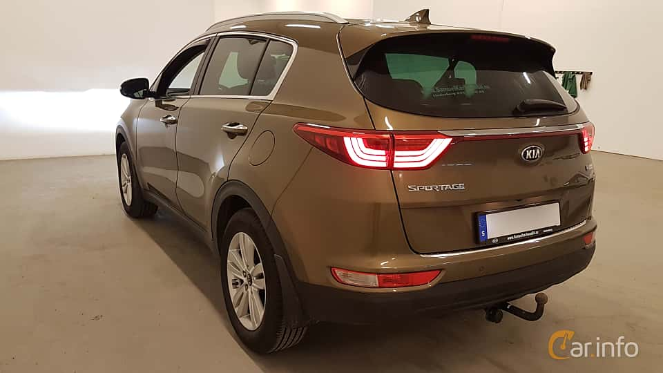 Back/Side of Kia Sportage 1.7 CRDi DCT, 141ps, 2017