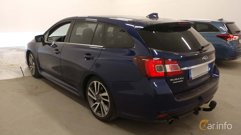Back/Side of Subaru Levorg 1.6 4WD Lineartronic, 170ps, 2016