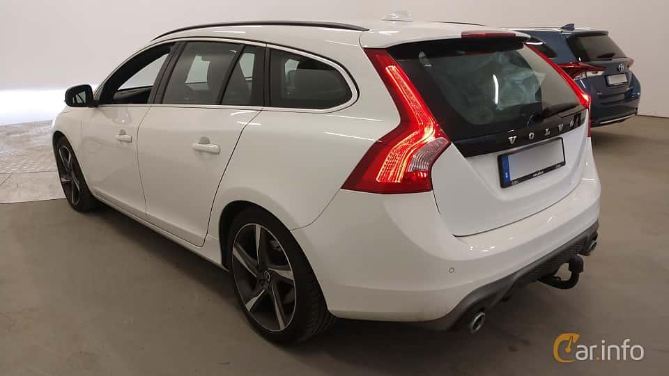 Back/Side of Volvo V60 D4 Manual, 190ps, 2016