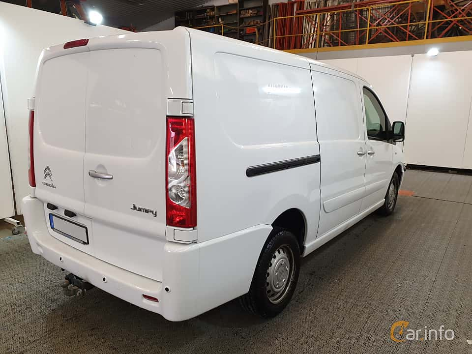 Back/Side of Citroën Jumpy Van 2.0 HDi Automatic, 163ps, 2016