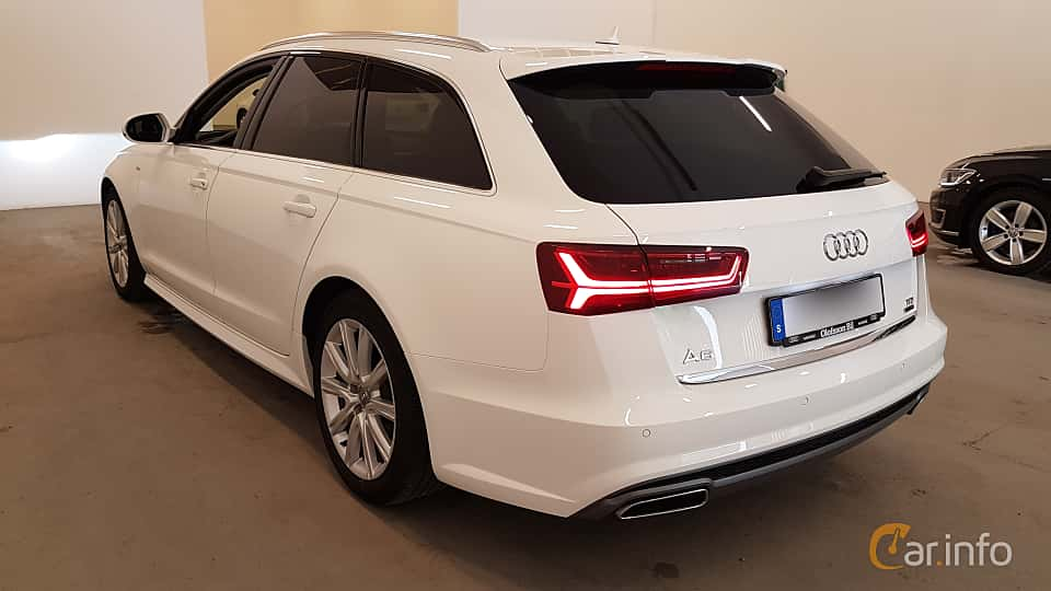 Back/Side of Audi A6 Avant 2.0 TDI quattro S Tronic, 190ps, 2016