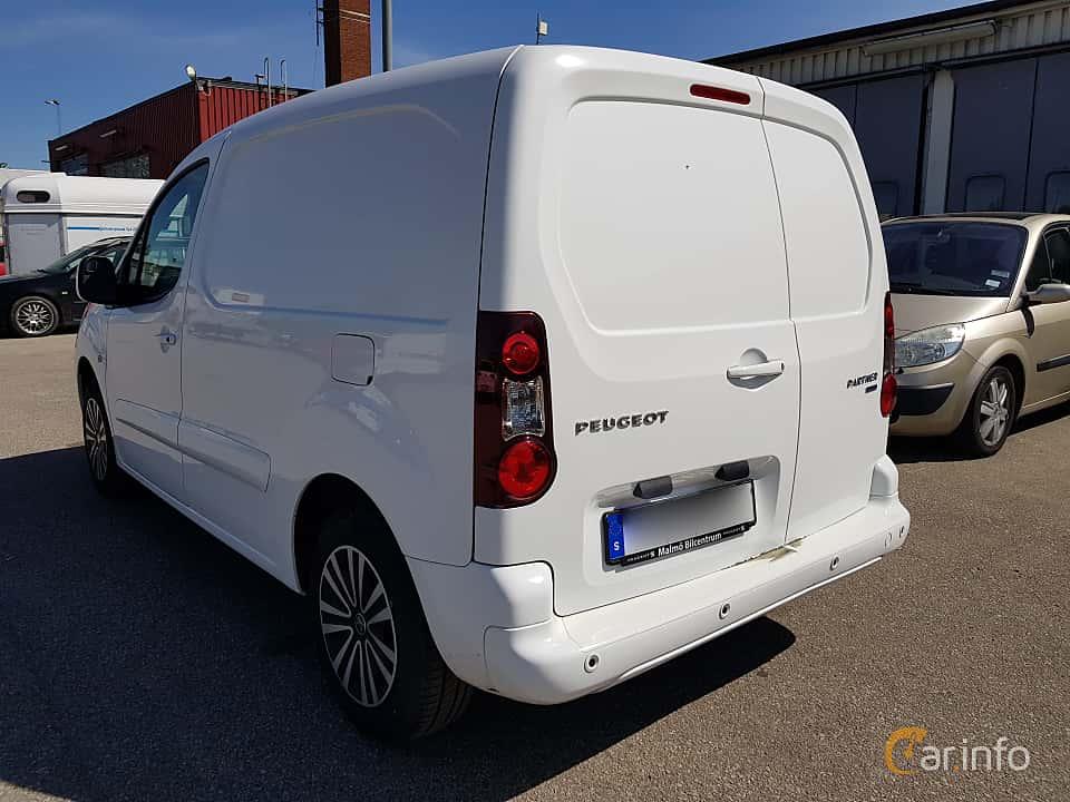 Back/Side of Peugeot Partner Van 1.6 BlueHDi Manual, 99ps, 2015
