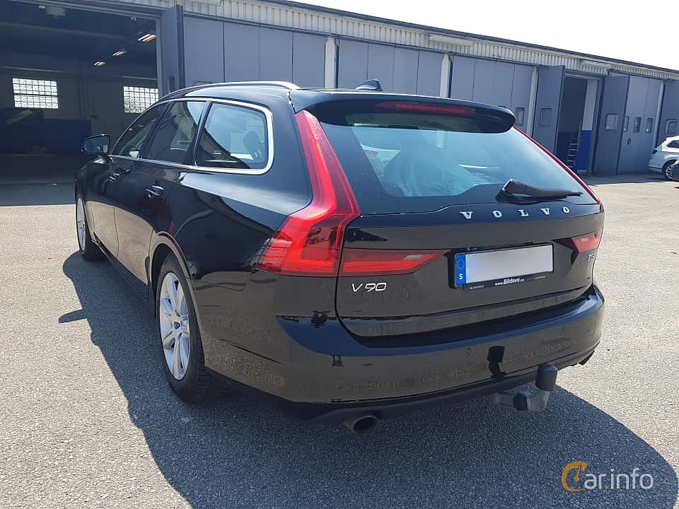 Back/Side of Volvo V90 T5 Bi-Fuel Geartronic, 253ps, 2017