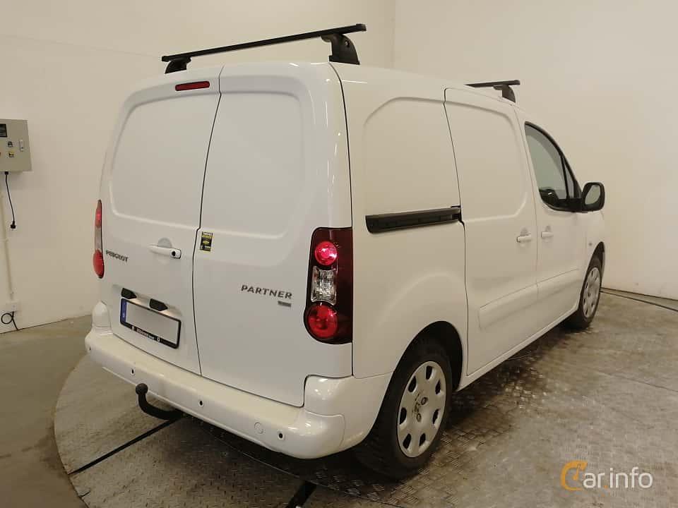 Back/Side of Peugeot Partner Van 1.6 HDi Manual, 92ps, 2014