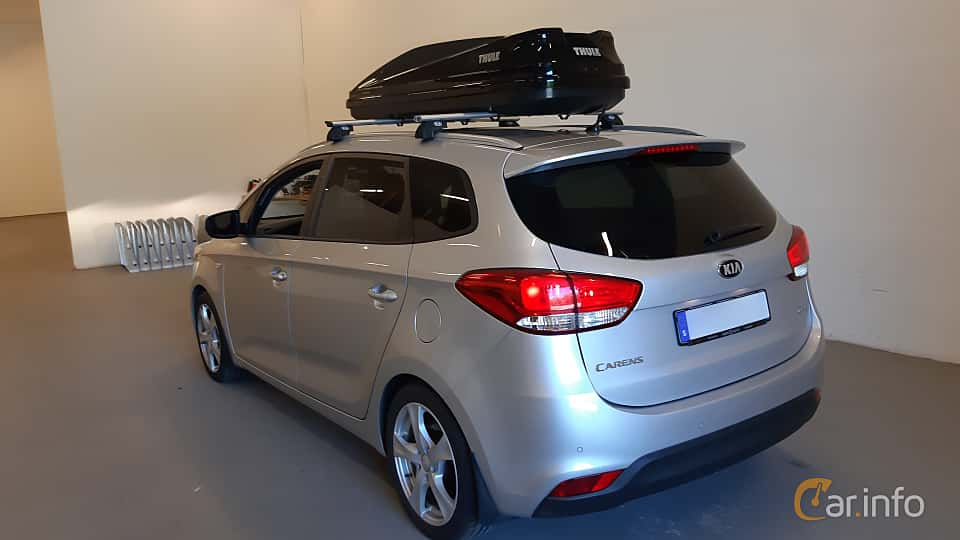 Back/Side of Kia Carens 1.7 CRDi DCT, 141ps, 2016