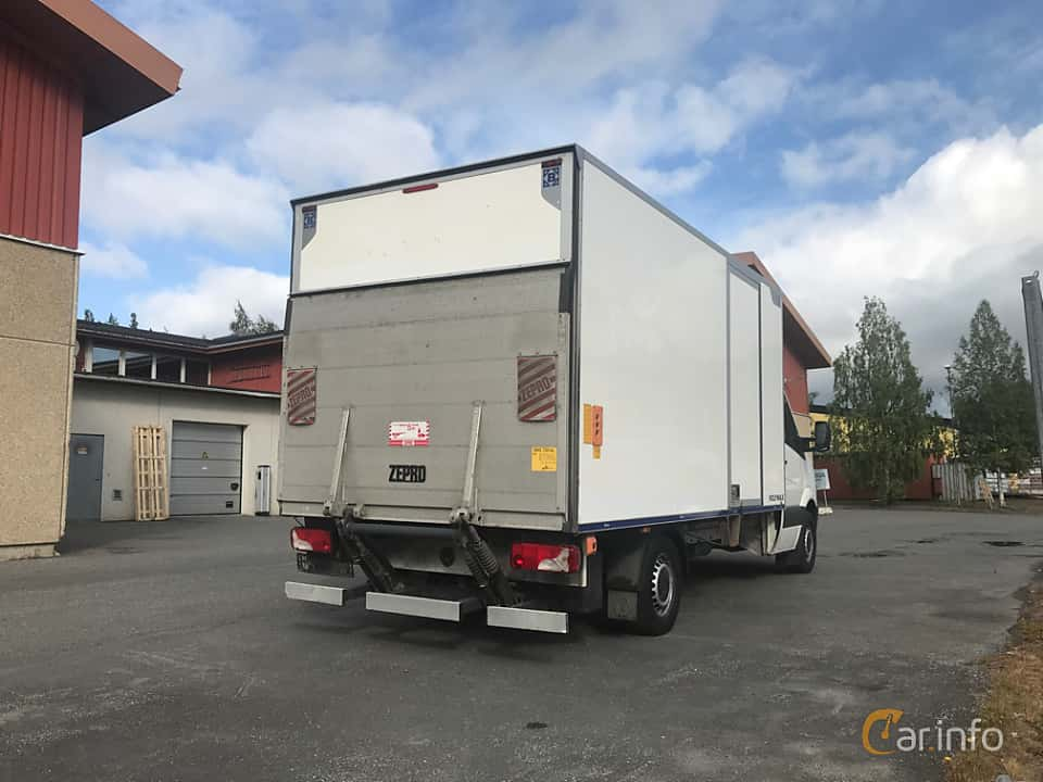 Back/Side of Volkswagen Crafter Chassi 2.0 TDI Manual, 163ps, 2013