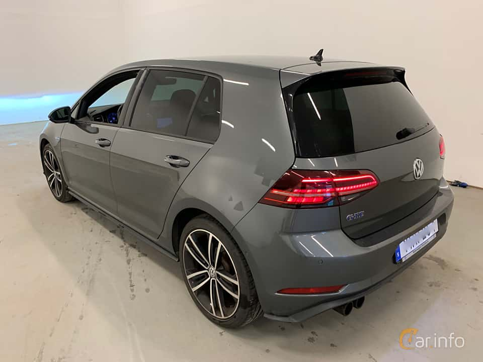 Back/Side of Volkswagen Golf GTE 1.4 TSI DSG Sequential, 204ps, 2018