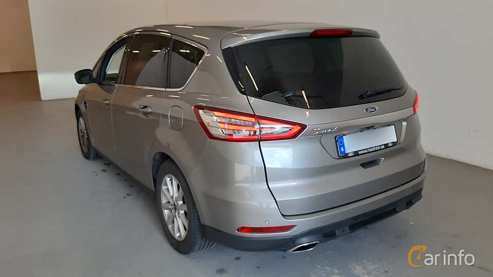 Back/Side of Ford S-Max 2.0 TDCi AWD Powershift, 180ps, 2017