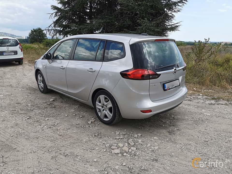 Bak/Sida av Opel Zafira Tourer 1.4 Turbo  140ps, 2012